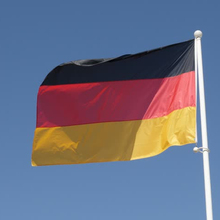big size germany national flag hot selling polyester/german national flag