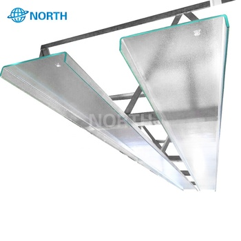 Safety big clear flat 12mm thick 1 2 inch clear tempered glass with en 12150 1