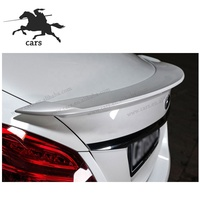 C Class W205 Auto Body Kits to CS Style Fits for Mercedes Benz C CLASS w205 Carbon Fiber Front Lip Rear Diffuser Trunk Wing