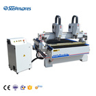 SM-1530-2H double heads factory price supply NC studio controller CNC Wood cutting furniture Carving Machine CNC Router