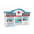 New design fine quality hospital theme kids plastic playhouse, fun indoor playground equipment