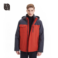 Winter Men's Windbreaker Hiking Camping Coats Outdoor Windproof Waterproof Thermal Ski Snowboard Jacket Sportswear