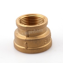 1/2 ''* 3/4 ''Brass F/F Verminderen Uitbreiding Sockets 15mm messing fitting Tepels