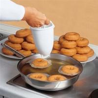 Home Kitchen Donut Maker Mold DIY Cooking Mould Plastic Doughnut Maker Machine Mold DIY Tool Kitchen Pastry Making Bake Ware