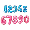 16 Inch Birthday Party Decorations Pink Numbers Foil Balloon
