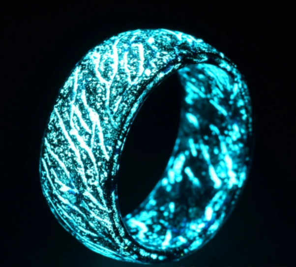 Latest Design Luminous Mens Rings for Men And Women Rings Glow In The Dark Ring Jewelry