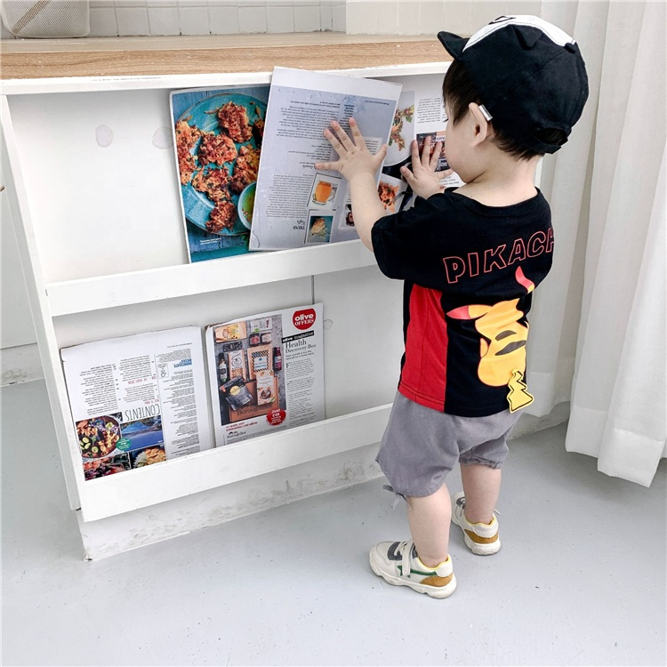 China Manufacturer Wholesale Promotional Letter T Shirt Pants Boys Clothing Sets