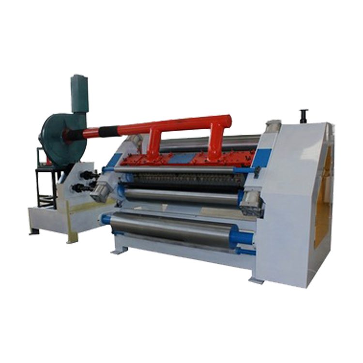 DW Single facer 2 ply corrugated cardboard paperboard paper machine for carton box