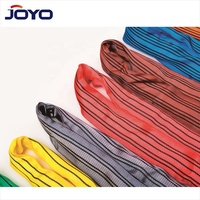 TUV GS high quality 5ton 10ton EB Type soft round endless Lifting polyester Webbing Sling