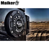 Guangzhou MAIKER Auto Gas cover for Jeep wrangler JK JL CNC making tank cover car parts