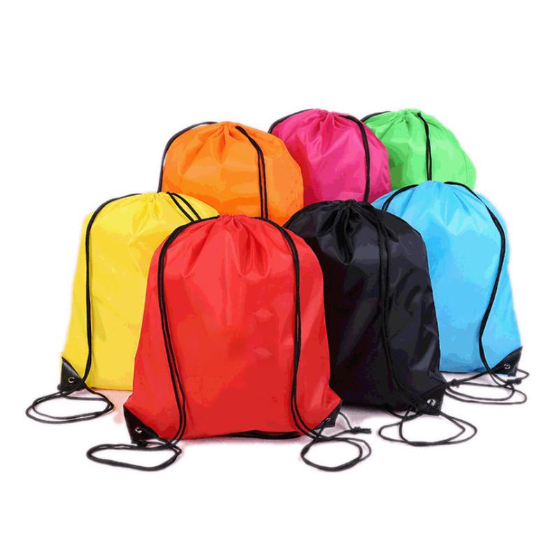 व्यक्तिगत शानदार ड्रा स्ट्रिंग शॉपिंग बैग