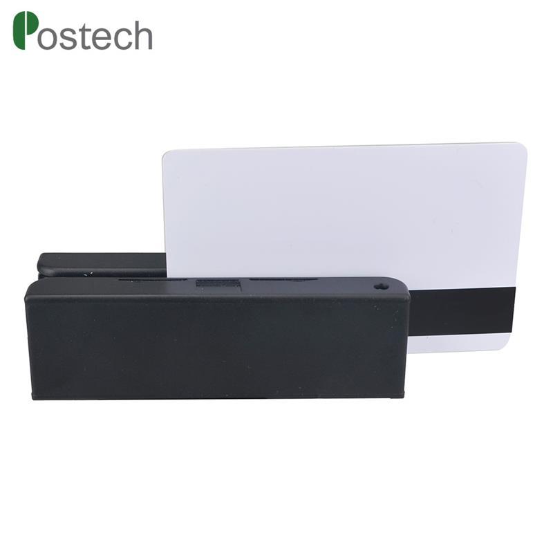 RS232 MSR100 3Track Magnetic Stripe Card Reader, GPS swiping card reader OEM ODM customization