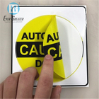 Customize High Quality Sticker Round Adhesive Label Sticker Double Sided Printing Window Adhesive Sticker