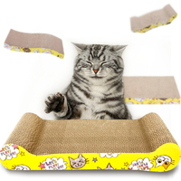 Durable Recyclable Corrugated cat Scratching Pad Cat Scratcher Cardboard with Resistant Bed for Cats