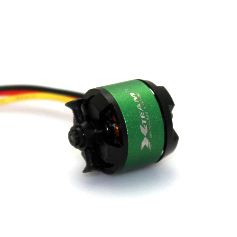 1708 2000kv 70W brushless dc outrunner motor for fix wing aircraft