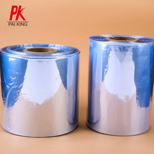 Fabricante de plástico película do envoltório do psiquiatra do calor do psiquiatra do PVC película de psiquiatra do PVC transparente film roll