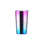 Customized logo and desgin New travel mug stainless steel tumbler double wall vacuum fit each car holder
