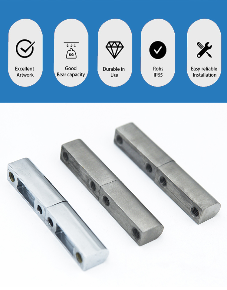 hinges cabinet zinc alloy chrome plated static cabinet visible hinge control cabinet key