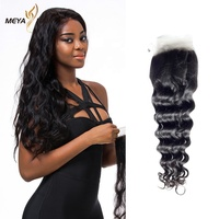 Latest 2019 Products 100% Human Hair 13X4 Loose Wave Lace Frontal Closure
