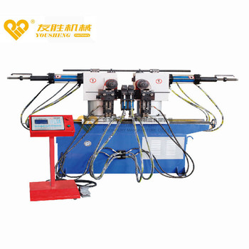 SW-38A Double-Head Hydraulic Pipe-Bending Machine