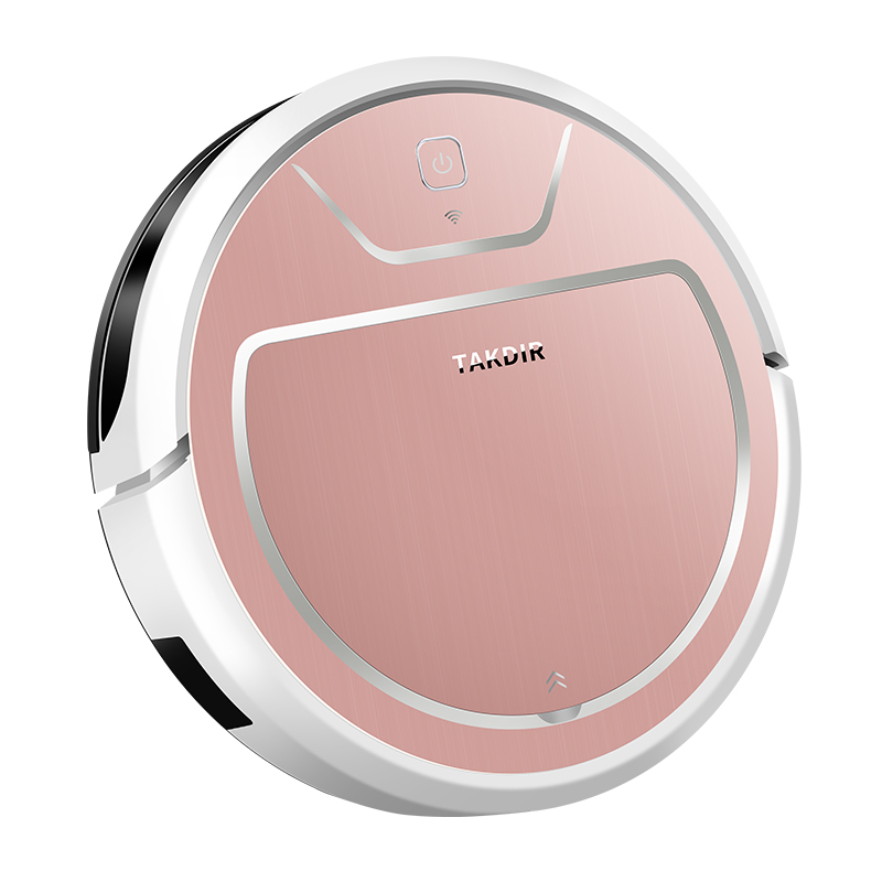 Robot Vacuum Cleaner, Tuya&Alexa,Wi-Fi, Super-Thin, 2000Pa Suction, Support OEM&ODM