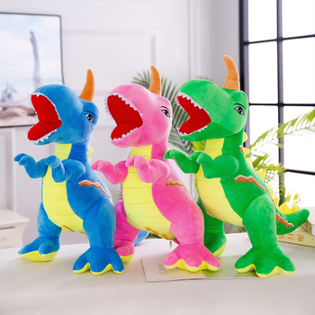 OEM wholesale large plush unicorn toy high quality pink unicorns dinosaur animal plush toy