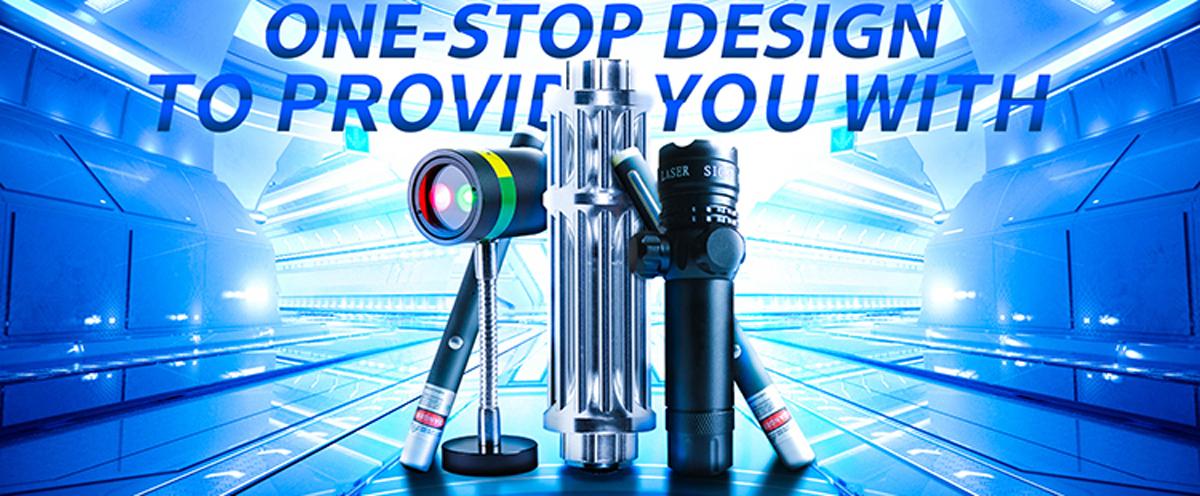 Leistungsstarke SD303 Einstellbarer Fokus 532nm Green Laser Pointer Light