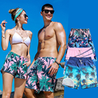 Sublimation Quick Dry Breathable Flags Mens Swimwear
