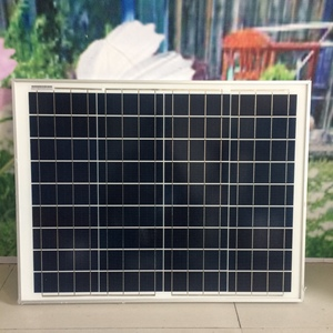50W Efficient polycrystalline solar panels