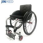 NA-432 Leisure Sport Wheelchair Rigid Frame Ultralight 7003 Aviation Aluminum Flexible Moblity Wheel Chair
