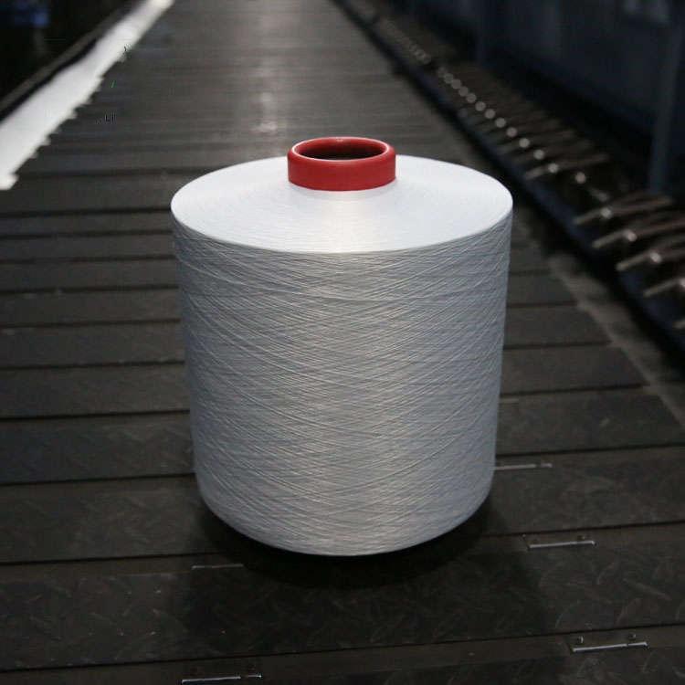 Weaving ACY factory price polyester korea texlon spandex air covered yarn for socks seamless machine