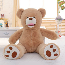 Big size miglior <span class=keywords><strong>animali</strong></span> di <span class=keywords><strong>peluche</strong></span> orso bruno <span class=keywords><strong>farcito</strong></span> morbido <span class=keywords><strong>peluche</strong></span> per la vendita