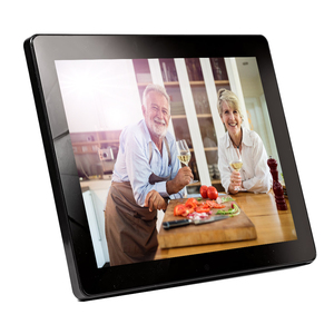 fashionable design 7 to 10.1inch series super slim solar digital photo frame lcd displayer