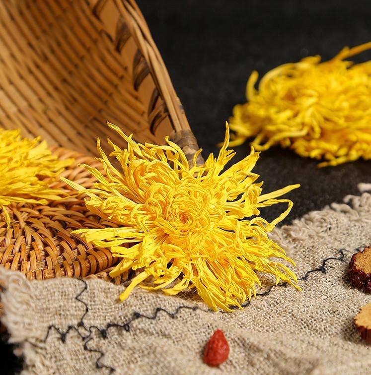 Natural Chinese blooming golden dried chrysanthemum flower tea - 4uTea | 4uTea.com