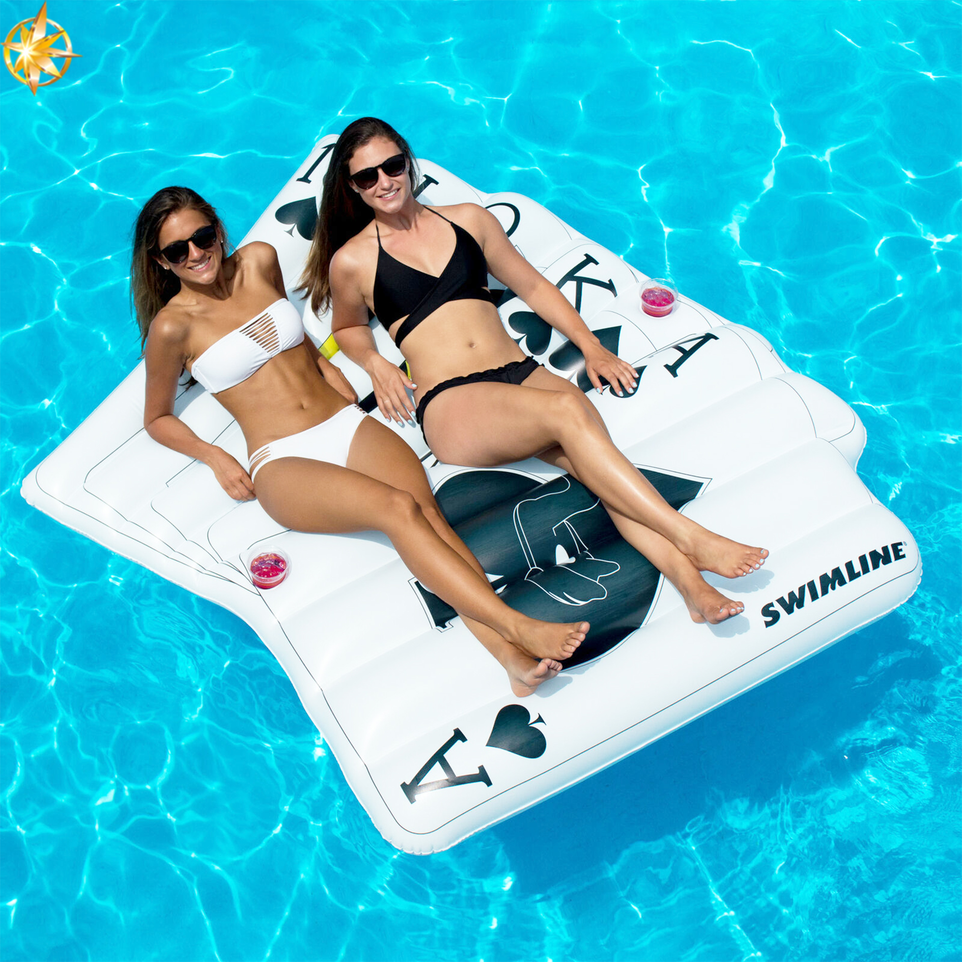 Customized Inflatable Raft Shell Float Summer Water Sport Raft Swimming Pool Toys