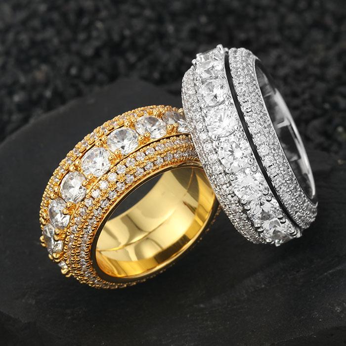 Missjewelry Turki Ottoman Sultan Suleiman 925 Sterling Cincin Perak dengan Batu Besar