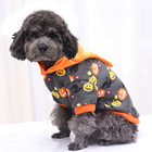 Christmas Funny Dog Clothing  Cotton Winter Lovely Pumpkin Costume Pet Clothing//
