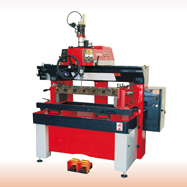 TS60  valve seat and valve guide cutting machine for repair motorcycle and small automotive multi-valve cylinder head