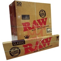 Raw Smoking Rolling Paper King Size Slim White Paper