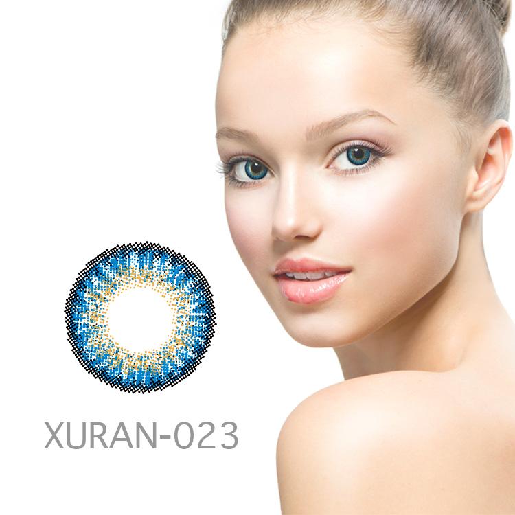 2018 New Fashion 3 tone natural color contact lenses wholesale lens manufacturer