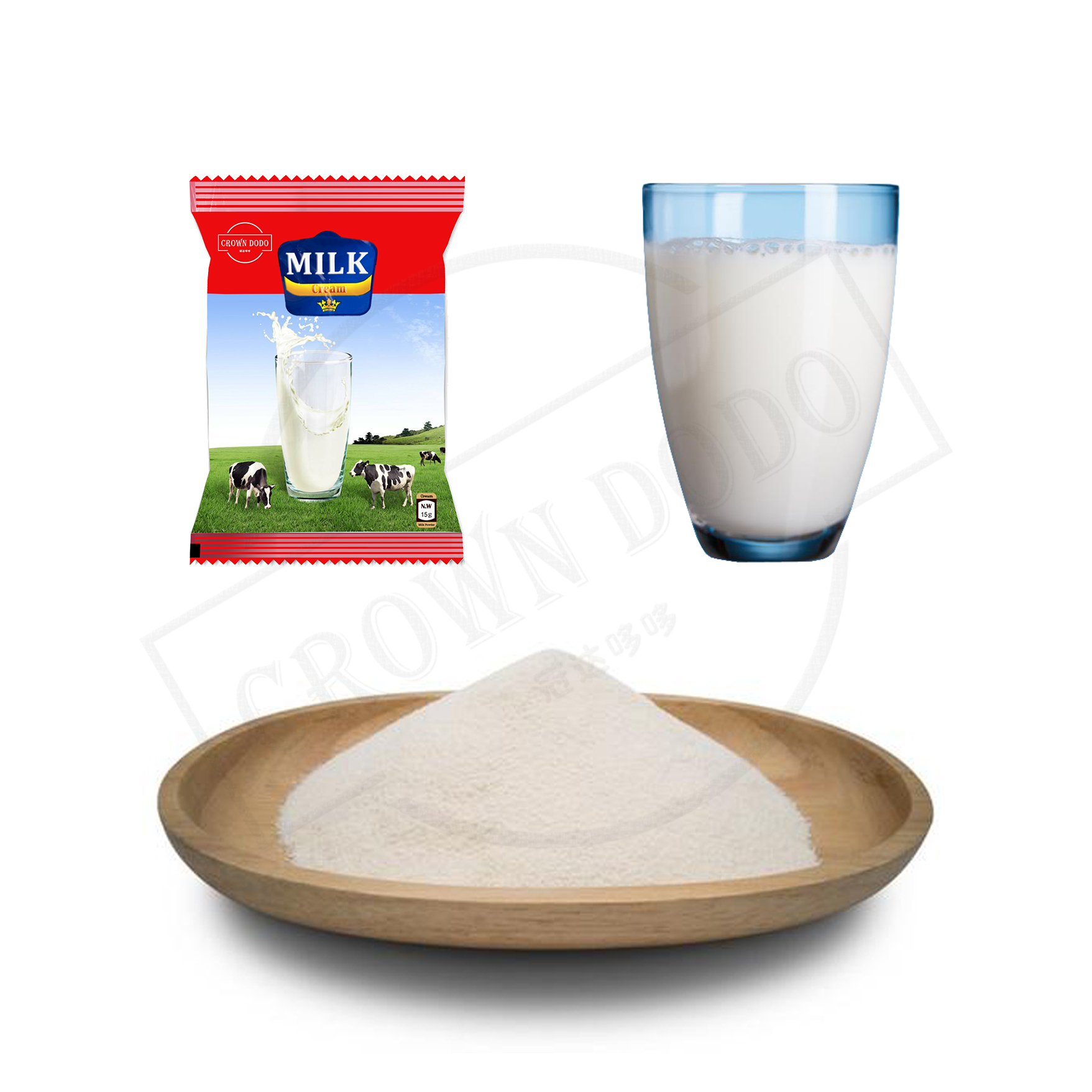 Milk powder from non dairy creamer sachet package instant dry powder hot sale in the middle east and africa HALAL food OEM/ODM