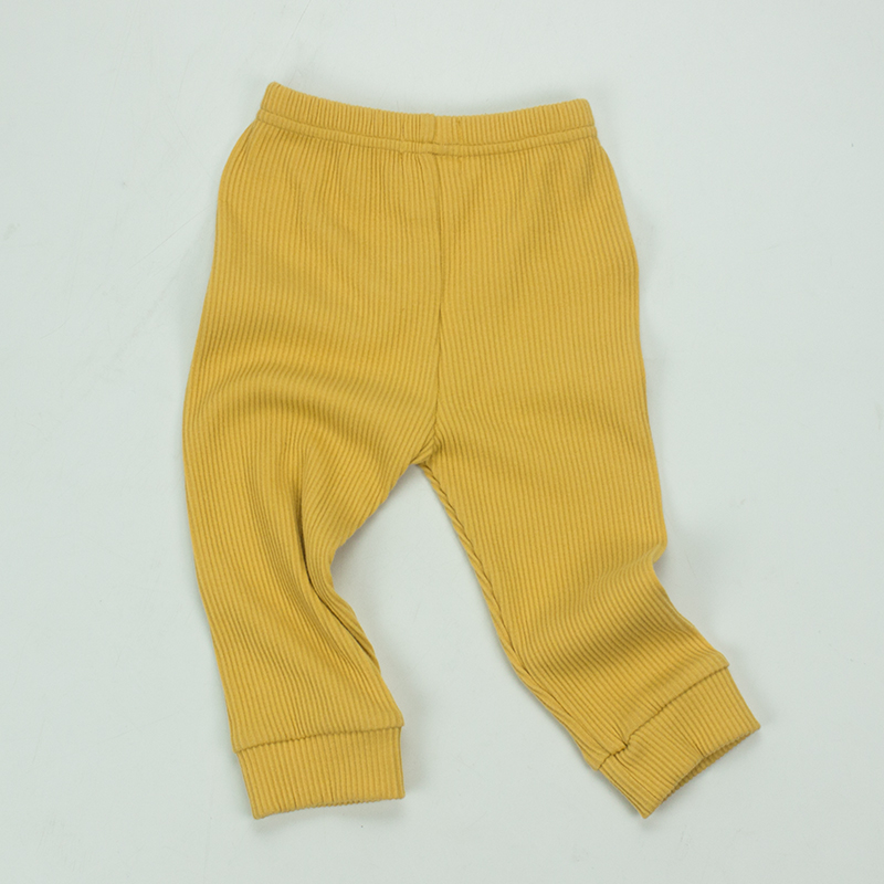 Autumn Fashion new boystrousers children ribbed knitted cotton sweatpants baby jogger pants