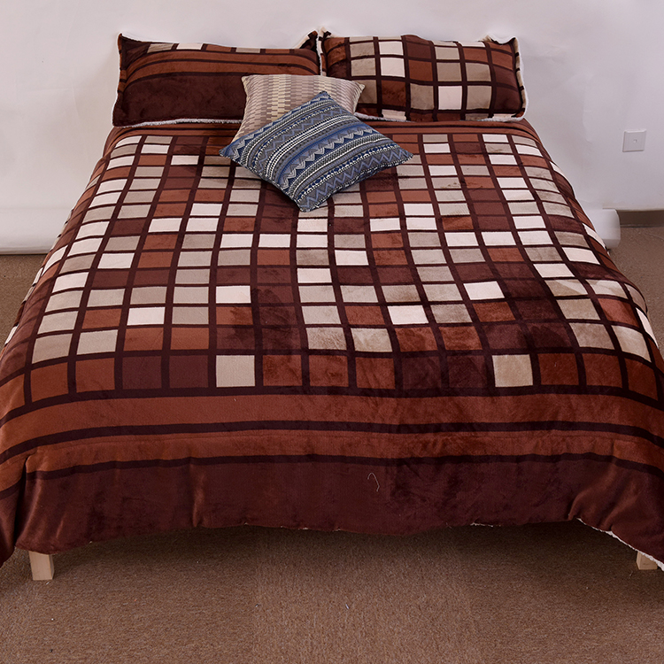 UK <strong>size</strong> 100% polyester hot wholesale sale flannel fleece <strong>bed</strong> <strong>set</strong>