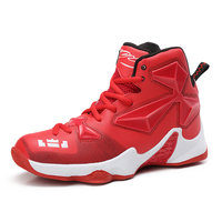Unisex Basketball Shoes Men Fashion Sneakers Outdoor Sport Shoes Girl Red Basketball Shoes Branded