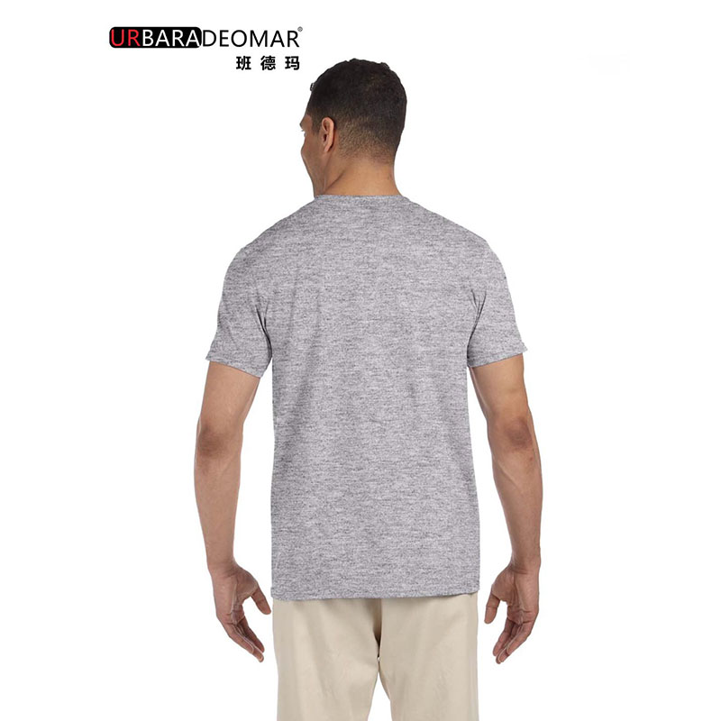 100% Cotton simple t-shirts for adult