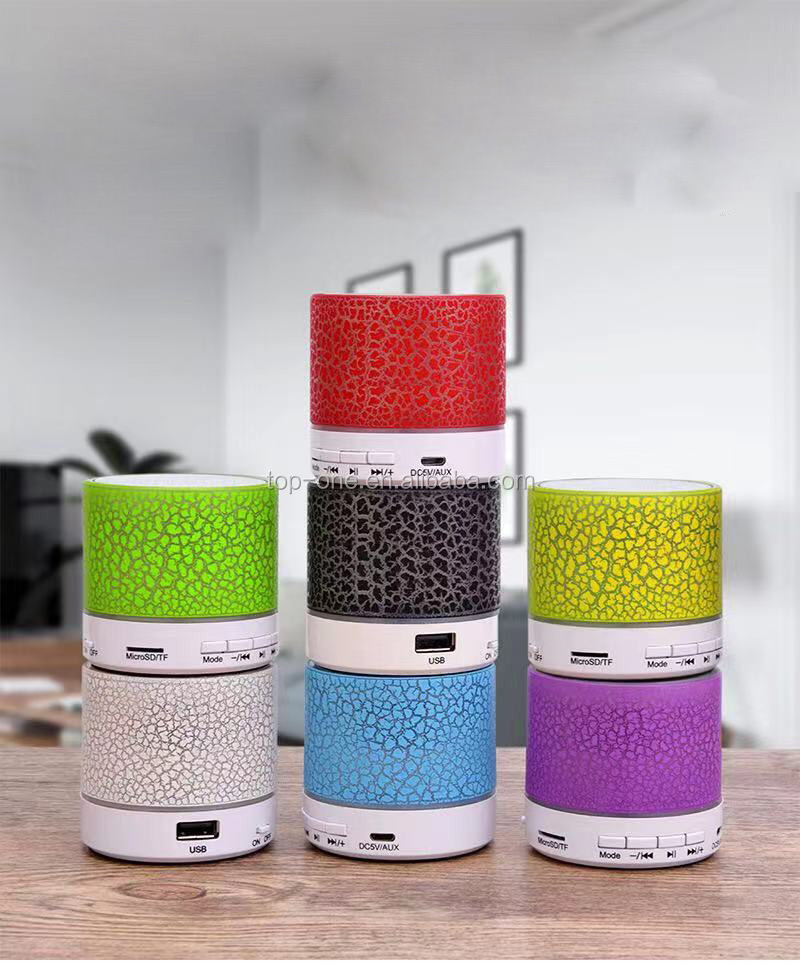 2019 Trending products cheap mini portable wireless bluetooth speaker with led light