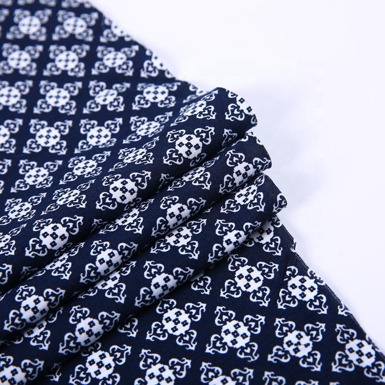 軽量通気性平織デジタル印刷キュプラレーヨンバティック生地