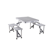 Wholesale Outdoor Furniture Portable Foldable Camping Picnic Table And Chair Set ,Outdoor Foldable Aluminum Coffee Table