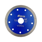 115mm Hot pressed turbo DIAMOND SAW BLADE dry/wet diamond cutting disc for tile marble