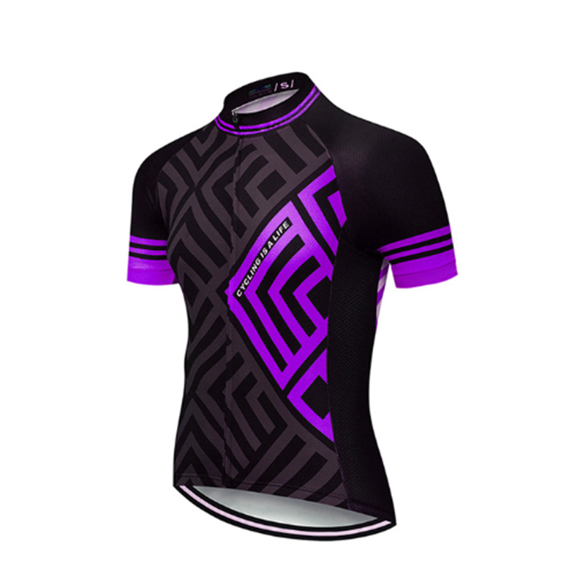 MenのShort Sleeves Summer Mountain Bike Downhill Racing Road Bicycle Cycling Jersey